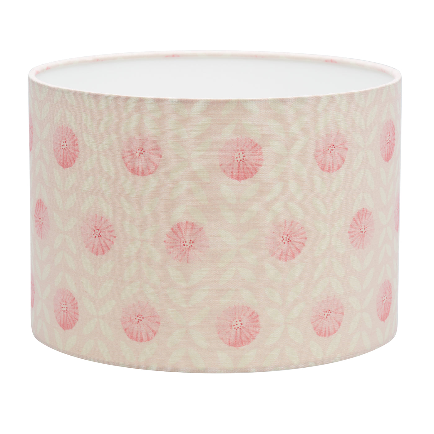 Pink Willowherb Linen Lampshade