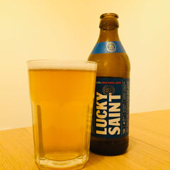 Lucky Saint Unfiltered Lager Best Tasting Low Alcohol Free Lager 2021 Good Stuff Drinks