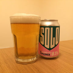 West Berkshire Brewery Solo Pilsner Best Tasting Low Alcohol Free Lager 2021 Good Stuff Drinks
