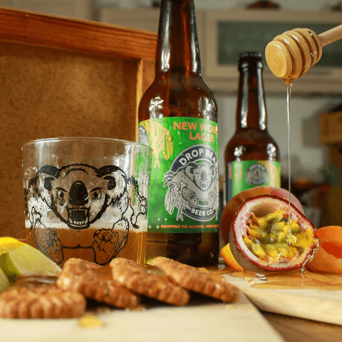 Drop Bear Beer Co New World Lager Flavours