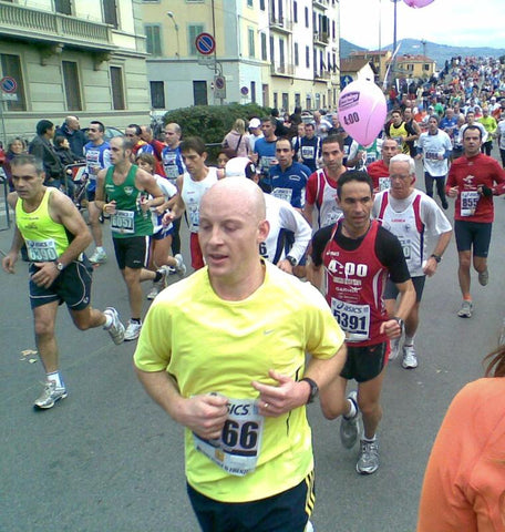 Tom Coles Good Stuff Drinks First Marathon Florence 2009