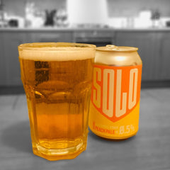 West Berkshire Brewery Solo Peach Ale Alcohol Free Beer Good Stuff Drinks