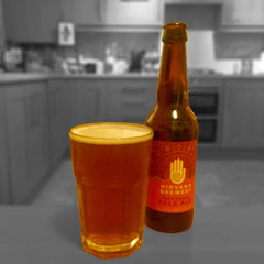 Nirvana Brewery Traditional Pale Ale 0.0% Alcohol Free Beer Good Stuff Drinks