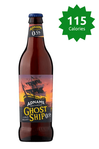 Adnams Ghost Ship Bottle 500ml 115 calories Good Stuff Drinks Alcohol Free Non Alcoholic Craft Beer