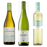 Crisp & Refreshing Alcohol Free White Wines Pack Black Tower Deliciously Light Low Alcohol Very Cautious One Gewürztraminer Riesling Torres Natureo Muscat