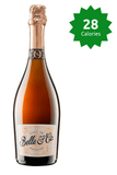 Belle & Co. Sparkling Rose 0% 750ml calories Good Stuff Drinks Alcohol Free Non Alcoholic Sparkling Rose Wine