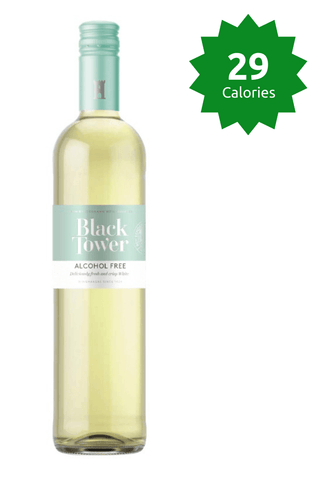 Black Tower Deliciously Light White Calories Good Stuff Drinks Alcohol Free Non Alcoholic Wine 29 calories sale Price £31.99