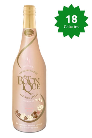 Botonique Blush 18 claories Good Stuff Drinks Alcohol Free Non Alcoholic Sparkling Rose Wine