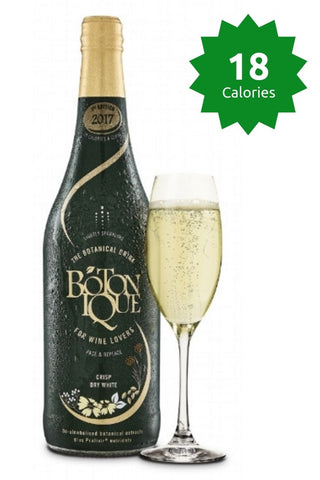 Botonique Original 18 claories Good Stuff Drinks Alcohol Free Non Alcoholic Sparkling White Wine