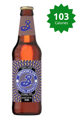 Brooklyn Special Effects 0.4% - 355ml Alcohol Free Beer 103 calories