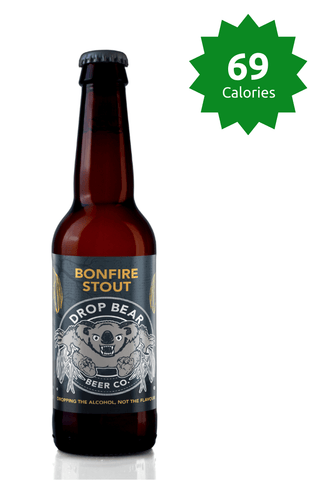 Drop Bear Beer Co Bonfire Stout 330ml Good Stuff Drinks Alcohol Free Non Alcoholic Craft Beer Price £22.99 69 calories