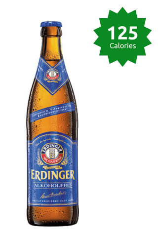 Erdinger Alkoholfrei Isotonic 0.5% - 500ml Alcohol Free Wheat Beer 125 Calories Good Stuff Drinks Price £27.99