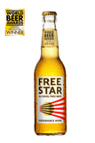 Freestar Premium  0.0% 330ml Good Stuff Drinks Alcohol Free Non Alcoholic Craft Beer Gold Award