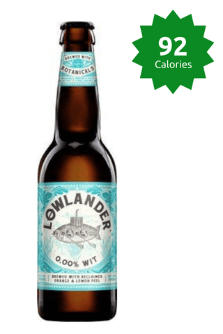 Lowlander wit 0.00 Good Stuff Drinks Alcohol Free Non Alcoholic Craft Beer 92 Calories Price £49.99