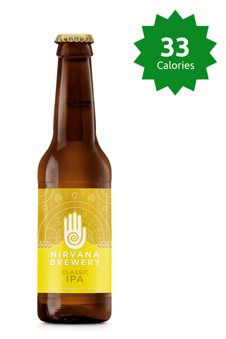 Nirvana Brewery Classic IPA (Sutra) 0.5% 33 Calories 330ml Good Stuff Drinks Alcohol Free Non Alcoholic Craft Beer £1.99
