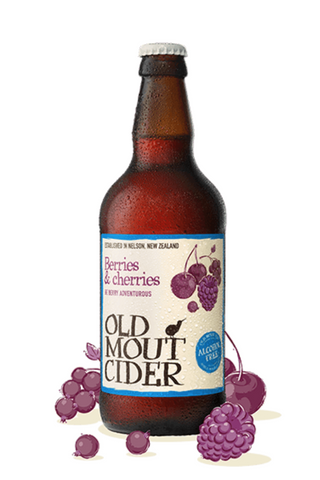 Old Mout Berries & Cherries 0.0% - 500ml Fruit Cider