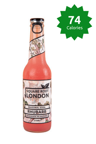 Square Root Rhubarb Soda - 275ml