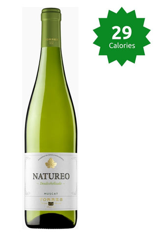 Torres Natureo Muscat 0.0% - 750ml Alcohol Free White Wine