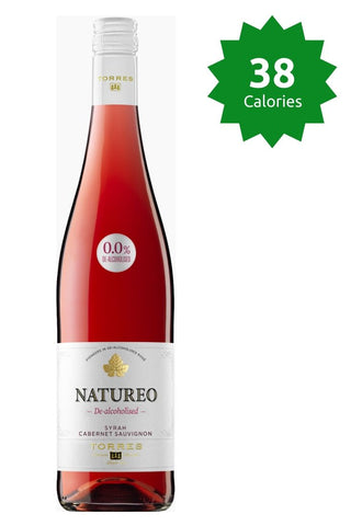 Torres Natureo Rose 0.0% - 750ml 38 calories Good Stuff Drinks Alcohol Free Non Alcoholic Rose Wine