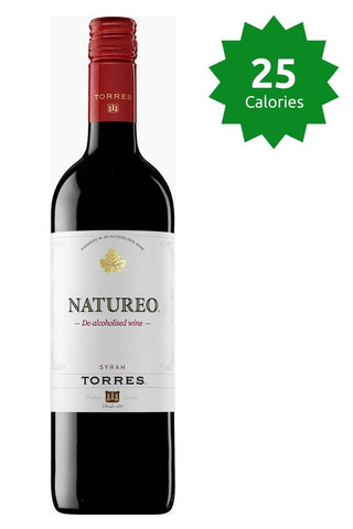 Torres Natureo Syrah 0.0% - 750ml 25 calories Good Stuff Drinks Alcohol Free Non Alcoholic Red Wine