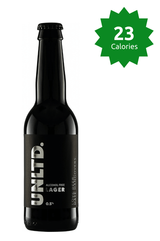 UNLTD Alcohol Free Lager 0.5% 23 Calories