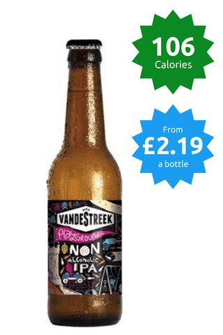 vandestreek playground ipa Good Stuff Drinks Alcohol Free Non Alcoholic Craft Beer 106 calories price £2.19