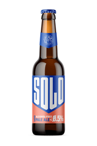 WBB West Berkshire Brewery Solo Pale Ale Bottle Alcohol Free Beer Good Stuff Drinks