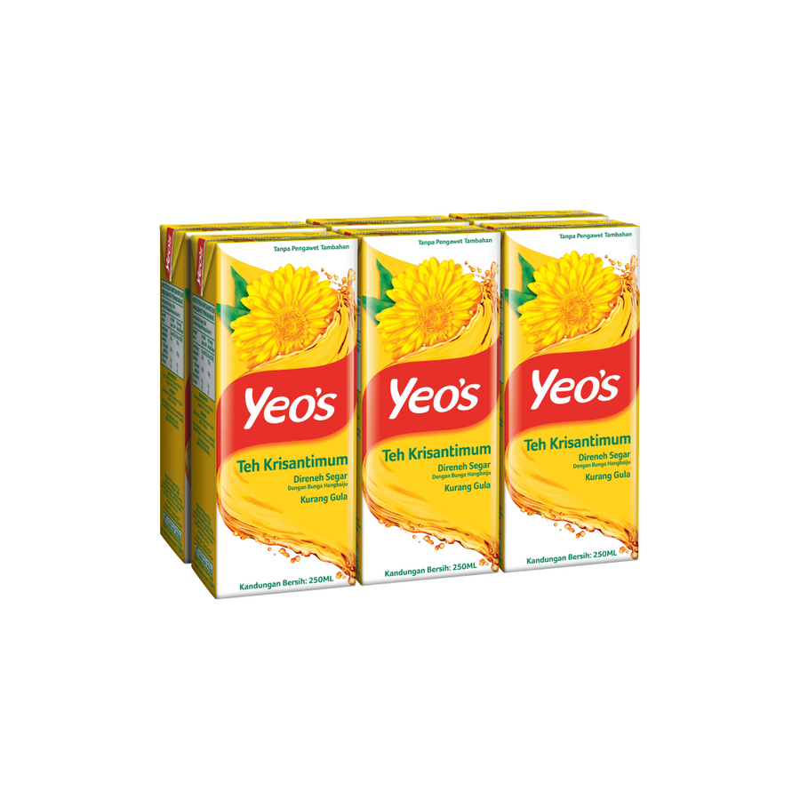 Yeo's Chrysanthemum Tea Tetra Pack 24'S X 250ML