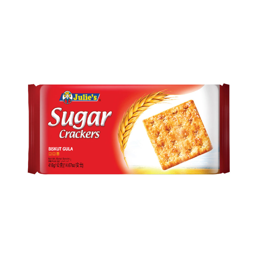 Julie's Sugar Crackers 416g