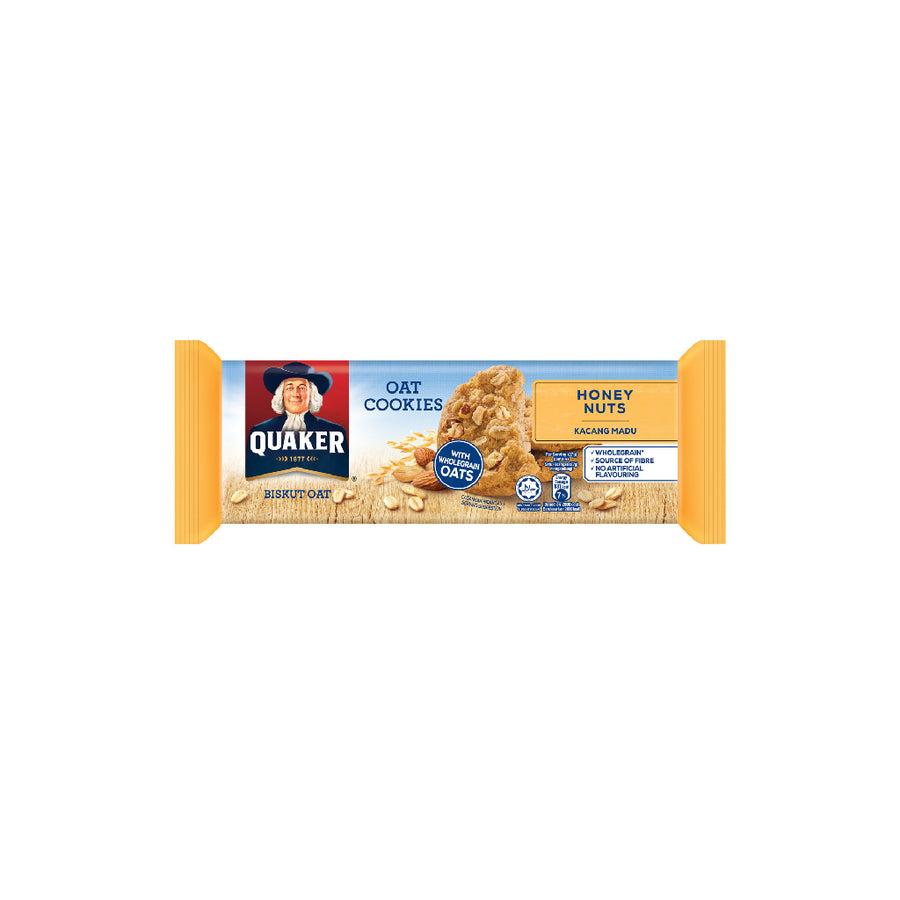 Quaker Cookies Honey Nuts 108g
