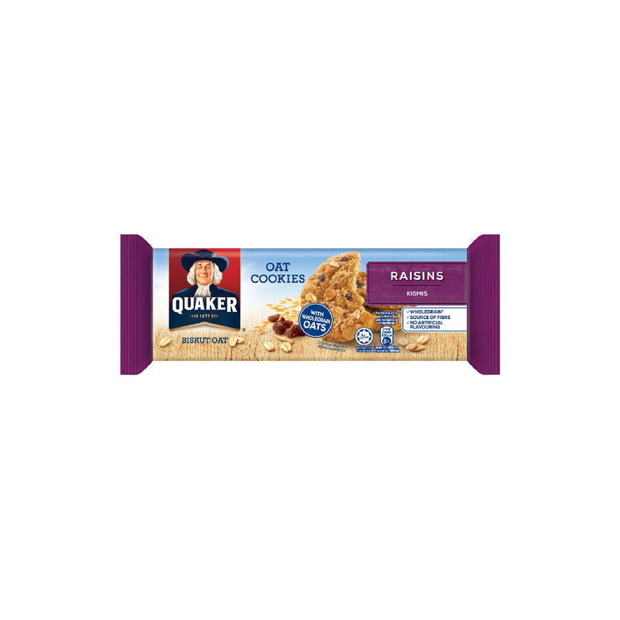 Quaker Cookies Raisins 108g