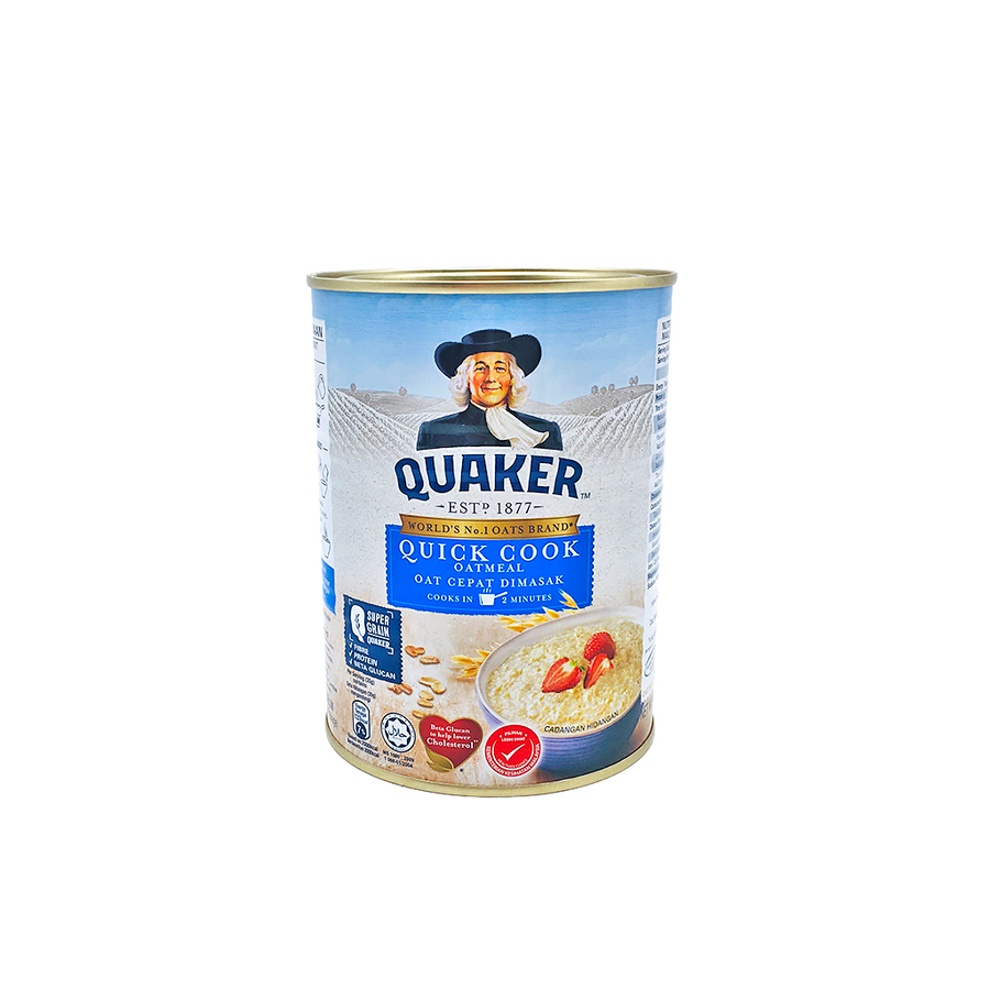 Quaker Quick Cook Tin 400g