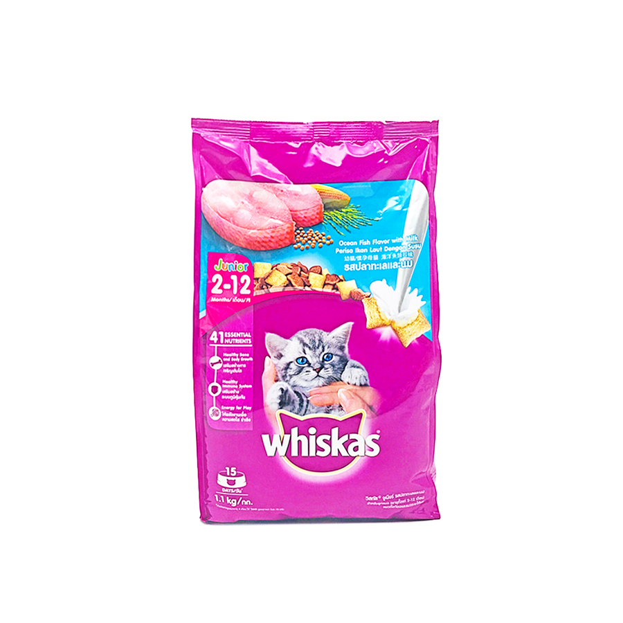 Whiskas Junior Ocean Fish 1.1Kg