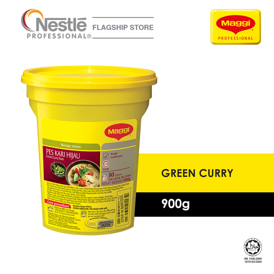 Maggi Green Curry Paste 900G