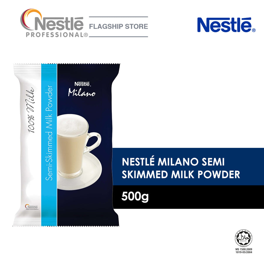 Nestle Milano Semi-Skimmed Milk Powder 500G