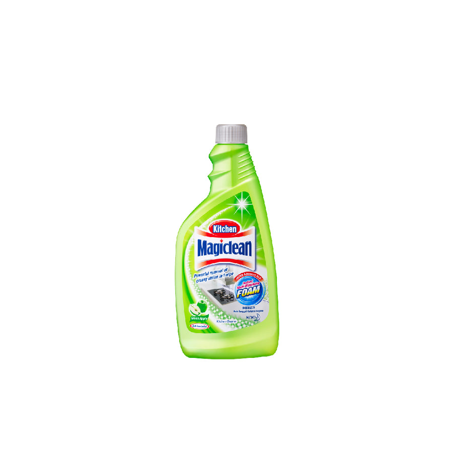 Magiclean Kitchen Cleaner Green Apple Refill Pack 500ML