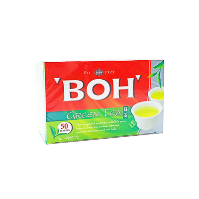 Boh Double Chamber Green Tea 50's