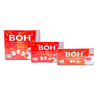 Boh Tea Double Chamber 50's
