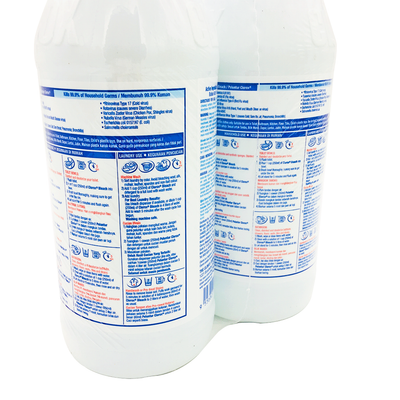 Clorox Liquid Bleach Regular 2 X 1L