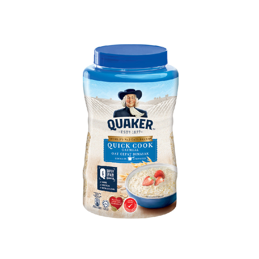 Quaker Quick Cook Tin 1Kg