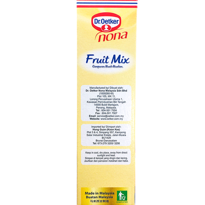 Dr.Oetker Nona Fruits Mix 150g