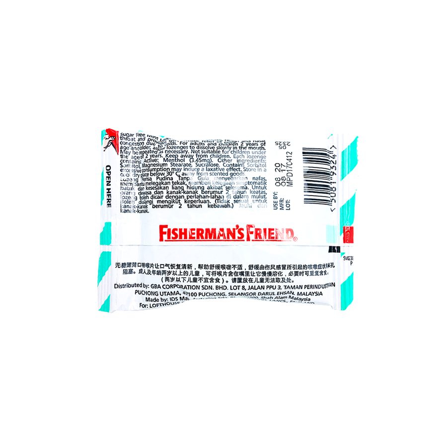 Fisherman's Friend Sugar Free Mint 25g