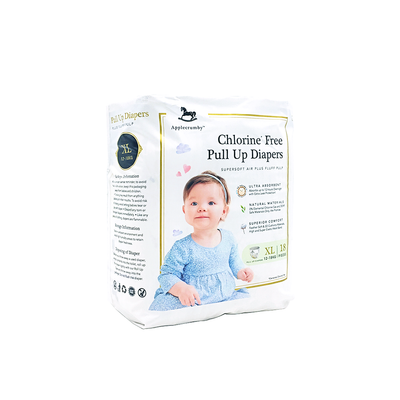 Applecrumby Chlorine Free Pull Up Diaper XL18
