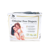 Applecrumby Chlorine Free Tape Diaper XL24