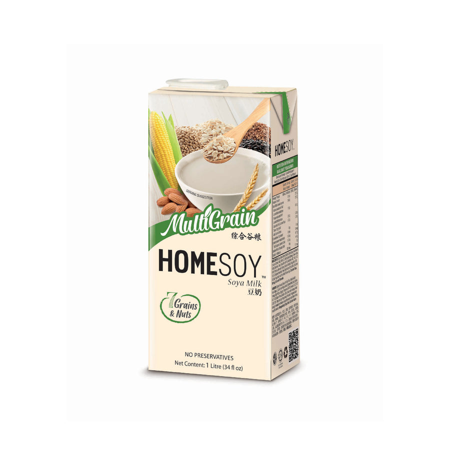Homesoy Multigrain Tetra Pack 1L