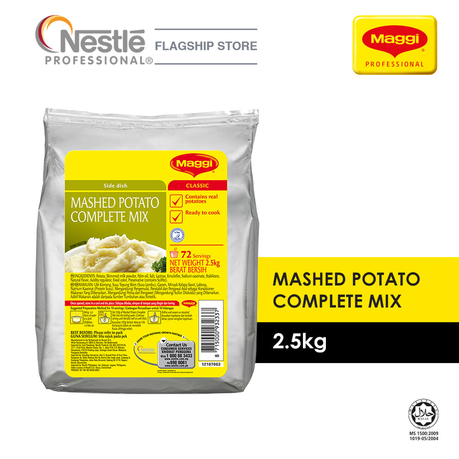 Maggi NPro Mashed Potato Complete Mix 2.5KG