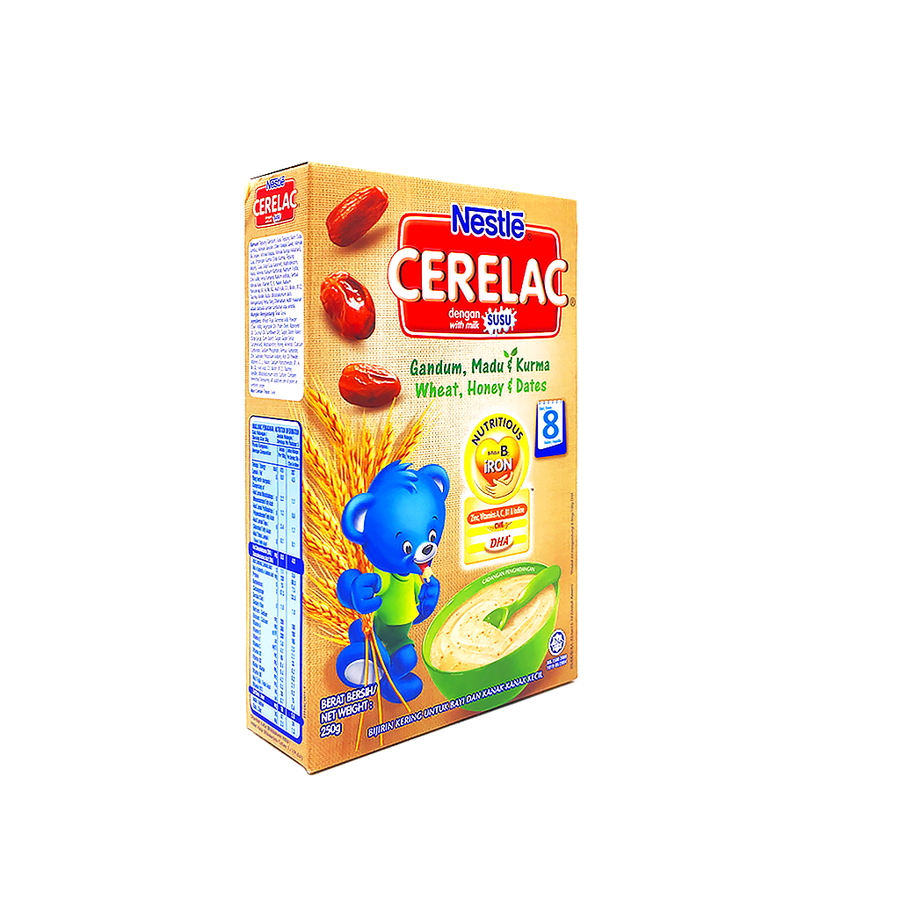 Cerelac FE Wheat Honey & Dates 250G