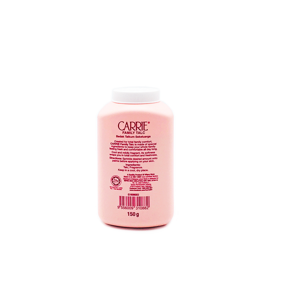 Carrie Family Talc 150G
