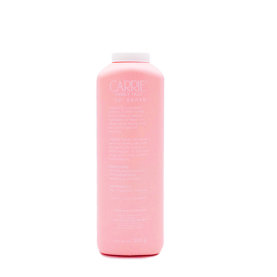 Carrie Family Talc 300G (Value Buy)