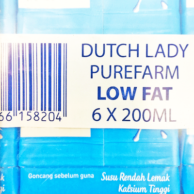 Dutch Lady UHT Low Fat 200ML